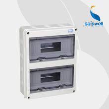 24P Distribution Box IP65 Electrical ABS Waterproof Box Waterproof Distribution Box  270*350*70mm (SHT-24)