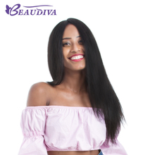BEAUDIVA Custom Lace Wigs Brazilian Lace Front Human Hair Wigs For Black Women Virgin Hair Short Straight Wig With Baby Hair