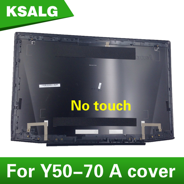 huge selection of b27ee 55df6 US $19.0 |Free Shipping Laptop New original Black For Lenovo Y50 Y50 70 No  Touch Lcd Rear Lid Top Back Cover Lcd Top Cover AM14R000400-in Laptop Bags  ...