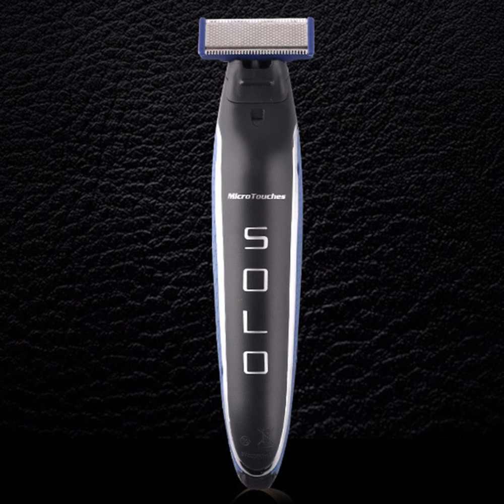 Porrtable 充電式洗えるコードレス電気シェーバーかみそりバリカン鼻歯ブラシ男性フェイスケア