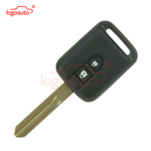 No chip Remote key 2 button 315Mhz for Nissan Micra Navara Almera Qashqai Patrol X-trail free shipping 3 button remote key case for nissan micra almera primera without logo 10pcs lot