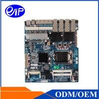 Trung quốc Intel LGA1150 bộ vi xử lý Z87 Chipest Haswall Ban hỗ trợ DDR3 4 * LAN 2 * SFP 6 * USB mini máy chủ bo mạch chủ công nghiệp