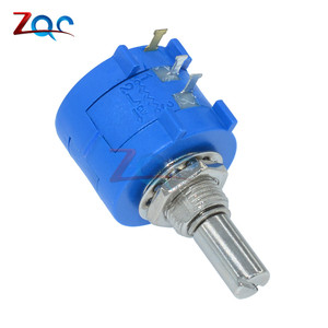 3590S-2-103L 3590S 10K ohm Precision Multiturn Potentiometer 10 Ring Adjustable Resistor(China)