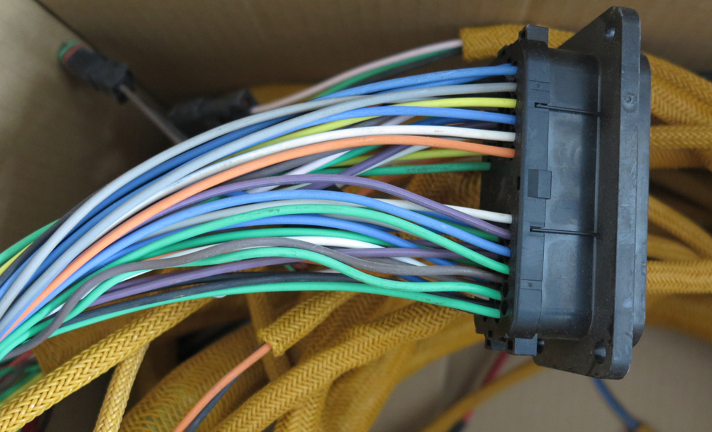 186 4605HE01 wiring harness for CAT 320C engine-in Wiring Harness ...