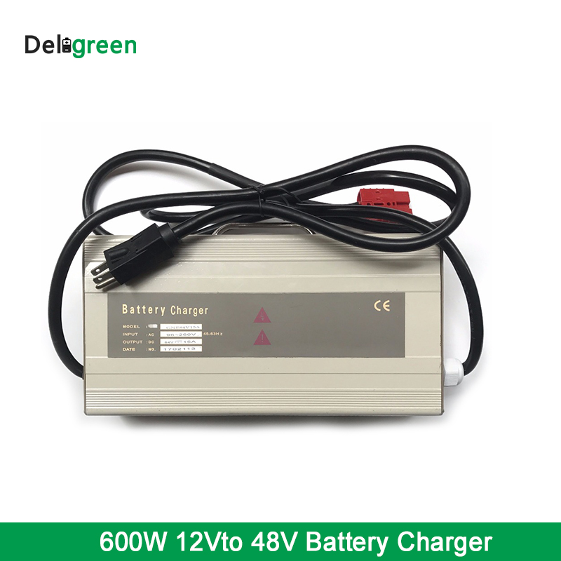 600W 24V 20A 36V 15A 48V 15A GNE Charger for Lead Acid Li-ion 18650 Pack High Power Smart Charger