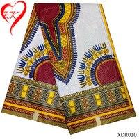 LIULANZHI dashiki sáp in vải phi hiện đại châu phi thiết kế trang phục cho dashiki sáp thật sự block in vải XDR010-15