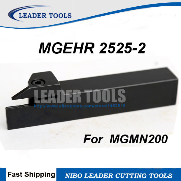 MGEHR2525-3 25×150mm MGMN300 Inserts External Lathe Turning Tool Holders 1Pcs