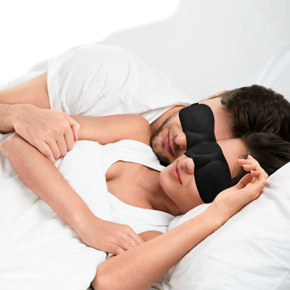 Hot Sale 1 PCS Lightweight Comfortable Soft Contoured Sleep Eye Mask Shades Blinder Drapes Beauty Health Care Sleep 3D Eyeshade