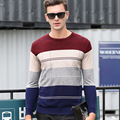 New Autumn winter Brand clothing Men O Neck Sweaters Pullovers Knitting Warm Designer Casual Man Knitwear
