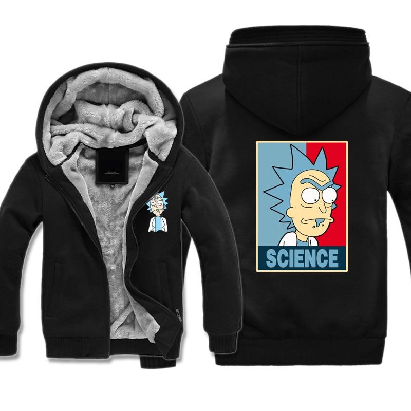 Rick et Morty veste épaisse Science Geek sweat à capuche pour hommes femmes