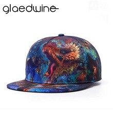 Glaedwine 3D estampado dragón huesos hombres Snapback sombreros Hip Hop  Strapback Gorras Snap Back sombreros para hombres talla . abee17adb03