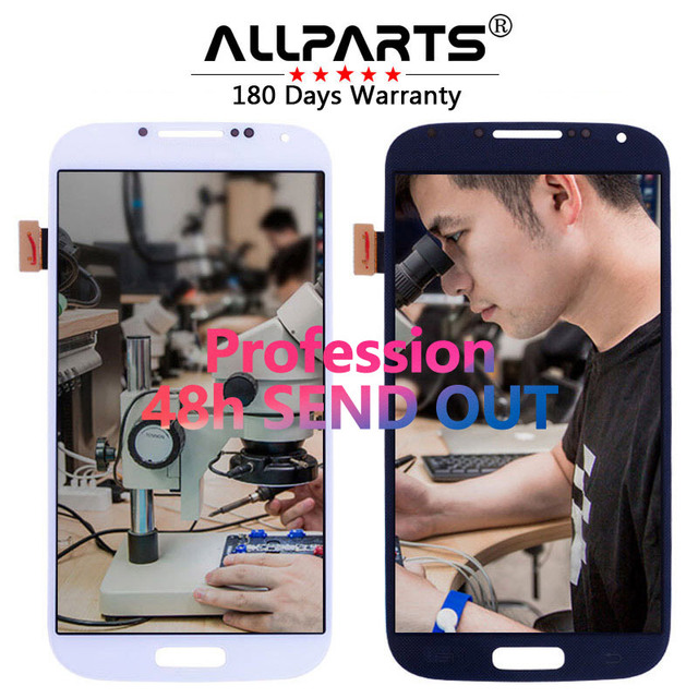 Tested 5.0'' Super AMOLED LCD for SAMSUNG Galaxy S4 LCD Display GT-i9505 i9500 i9505 i9506 i9515 i337 Touch Screen Digitizer