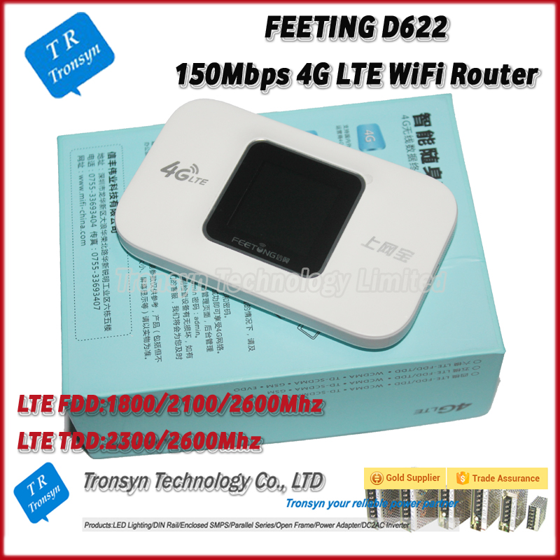 Factory OEM 150Mbps 3G 4G LTE Wireless Mobile WiFi Hotspot Router Access Point Color Display Screen Suport B1 B3 B7 B38 B39 B40