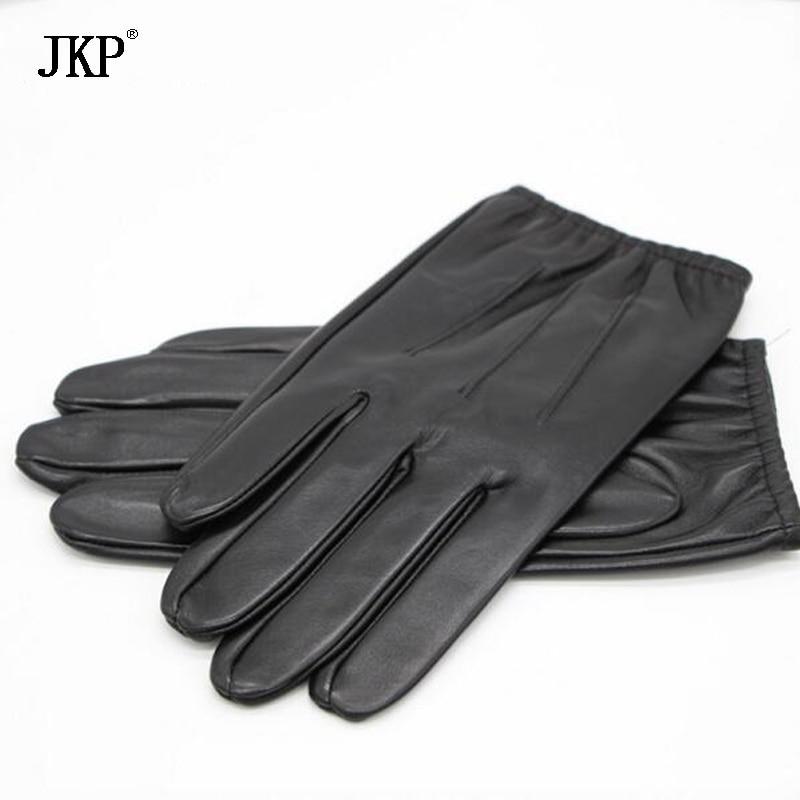 Men's Gloves Genuine Leather Men And Women Gloves,mens Black Gloves,leather Gloves Men Ture 100% Guarantee