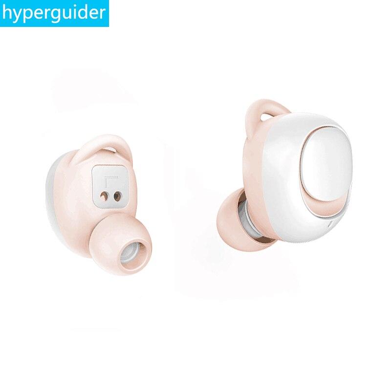 Hyperguider บลูทูธ 5.0 ไร้สายหูฟัง mosum แบบพกพา TWS หูฟังสเตอริโอกันน้ำ IPX5 รีโมทคอนโทรลสำหรับสาวเลดี้ของขวัญ-ใน หูฟังบลูทูธและชุดหูฟัง จาก อุปกรณ์อิเล็กทรอนิกส์ บน AliExpress - 11.11_สิบเอ็ด สิบเอ็ดวันคนโสด 1