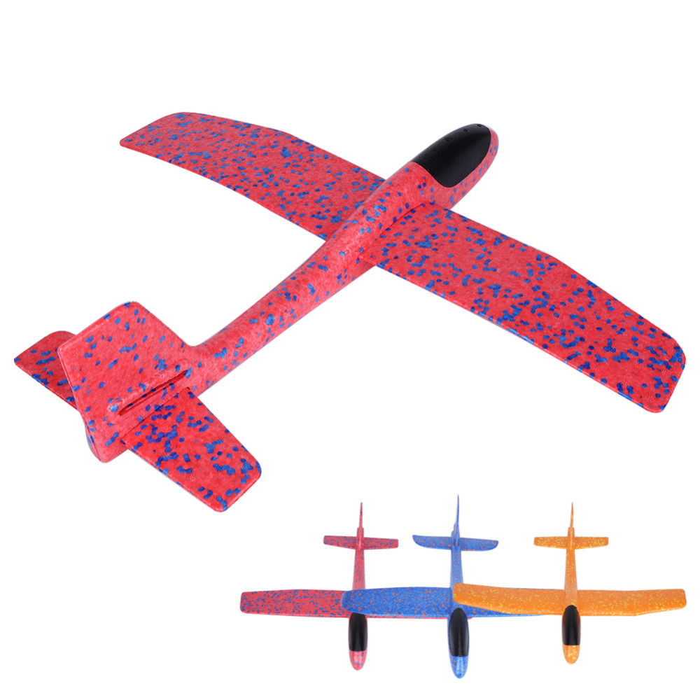 2018 DIY Toys Kids Hand Throw Flying Glider Planes Foam Aeroplane Model Party Bag Fillers Flying Glider Plane Toys For Kids Game