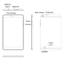 CHUWI Hi9 Pro Android 8,0 4G LTE Tablet PC MT6797 X20 Deca Core 3 GB RAM 32 GB ROM 8,4 pulgadas 2560*1600 GPS Phone Call Tabletas