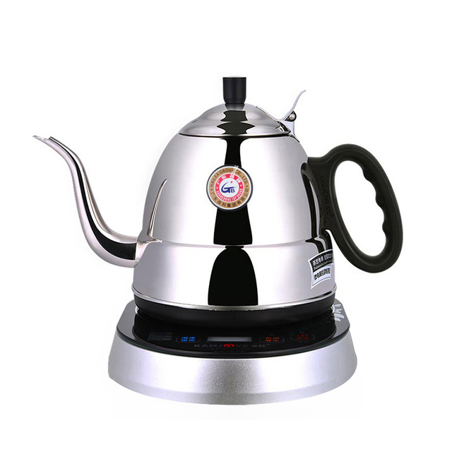 free shipping KAMJOVE TP-700 Stainless steel electric kettle hot intelligent induction electric tea kettle
