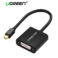 Ugreen Thunderbolt 1 2 Mini Displayport DP To DVI Active Adapter Cable 1080P Mini DP To