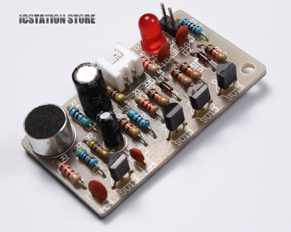 DIY Clap On Off Switch Kit Acoustic Sensor Electronics Soldering Practice Set Sound Activated Clapper Switch 4Meter ambarish kumar rai maternal