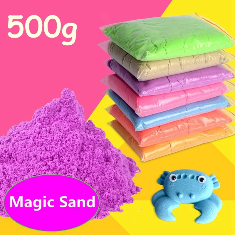 DoDoLu-500g-Kids-Play-Sand-Dynamic-Artificial-Colored-Baby-Space-Sand-Children-Indoor-Funny-Toy-DIY-Educational-Toys-Hot-sale-1