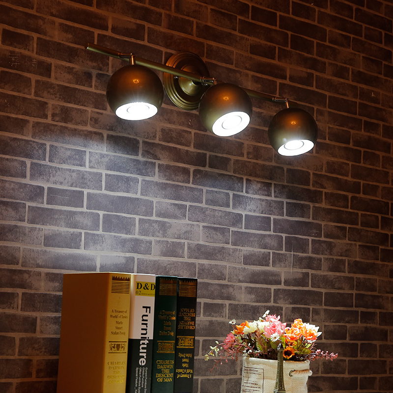 Fashion Painted Iron Tv Background Wall Spotlights Focos Led 3w Showcase Track Lighting 1 Head 2 Heads 3 4 Holofote In Lamps From Lights