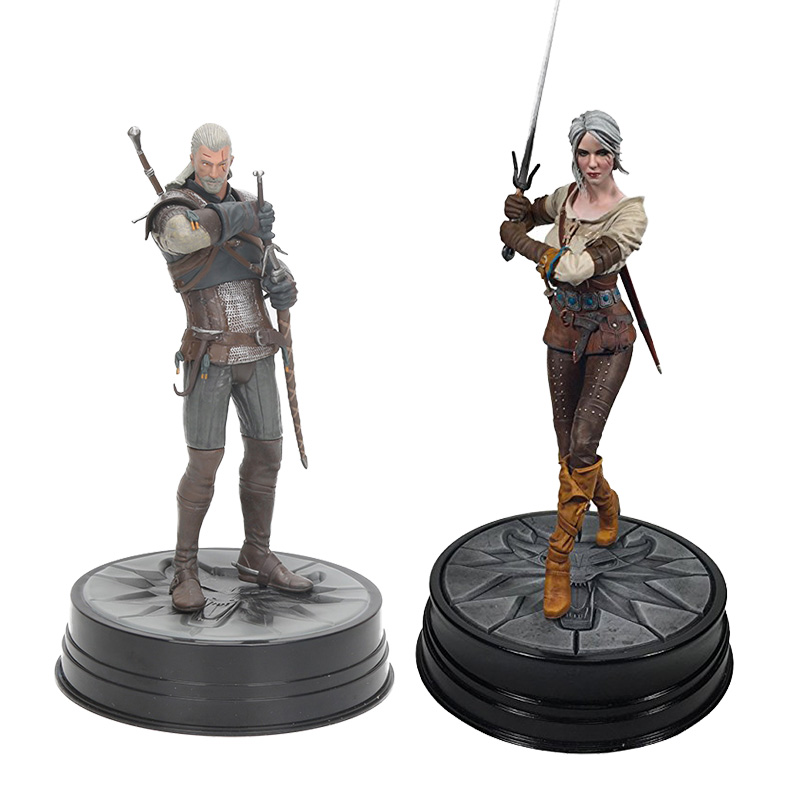 9-25cm The Witcher 3: Wild Hunt Geralt Ciri Figure Geralt Of Rivia Grandmaster PVC Figures Action & Toy Collection Toy Gifts