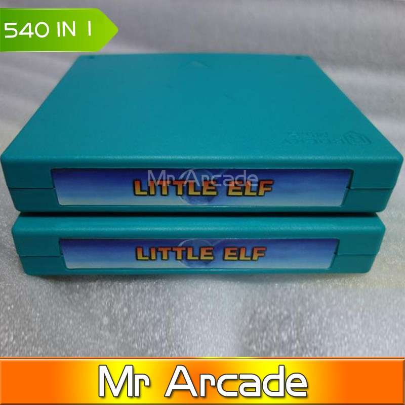 520 in 1 upgrade to little elf 540 in 1  jamma arcade multi game borad  cga VGA output Arcade fighting game pcb the little old lady in saint tropez