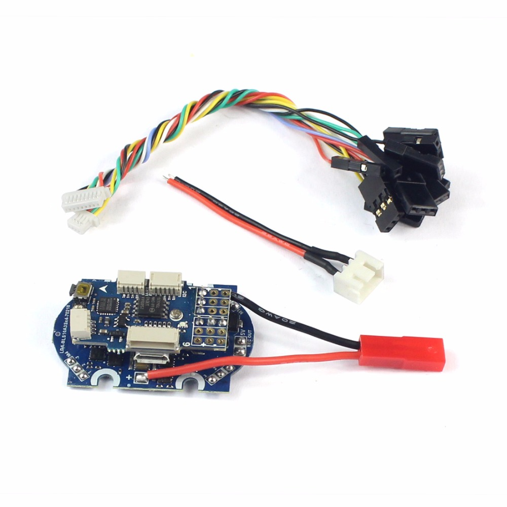 4 in 1 ESC F3 Flight Controller with ESC Speed Controller Support ONESHOT DSHOT Kingkong for 90GT Super Mini FPV Drone F19936 свитшот женский sela цвет серый меланж st 113 937 7351 размер xs 42