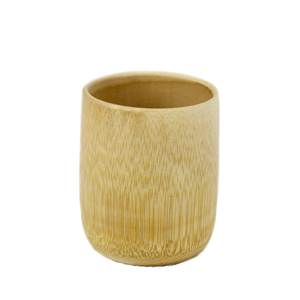 Green Natural Pure Handmade Bamboo Tea Cups Water Cup Bamboo Round Tea Cups Insulated Small Gift Кубок