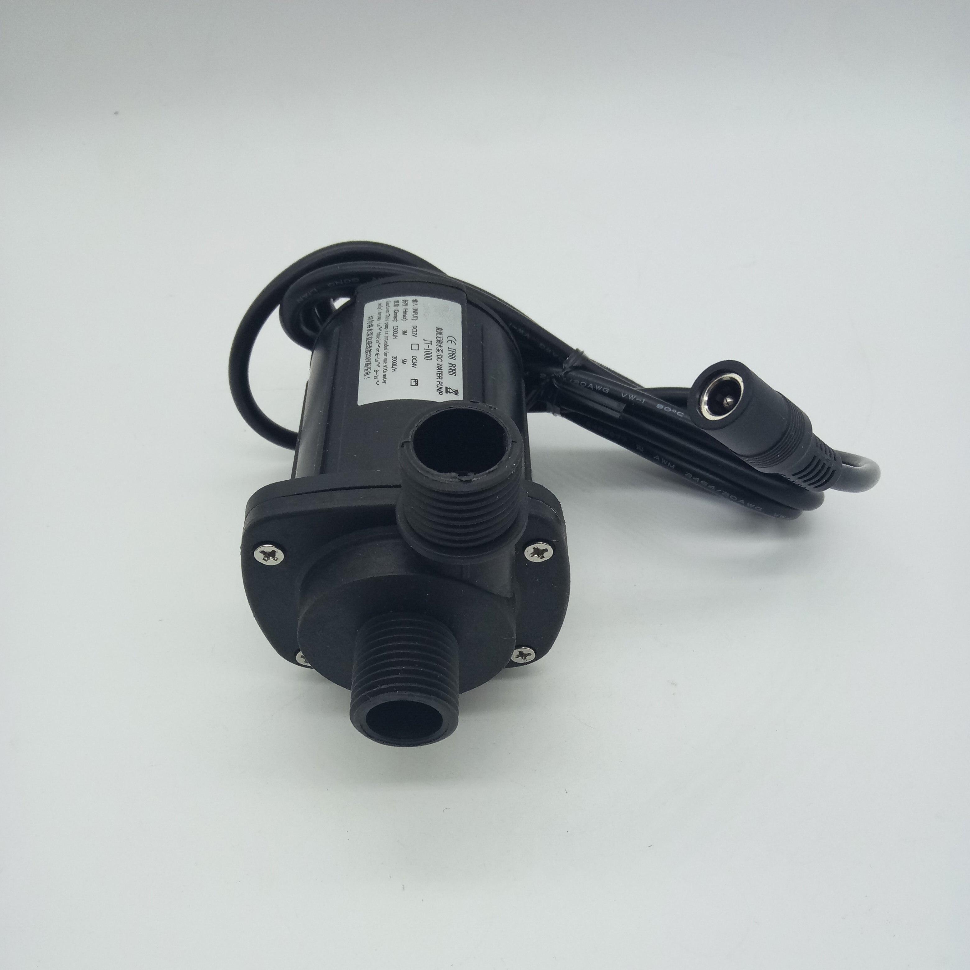 JT-1000B deux phases 12 v 24 V DC pompe à eau sans brosse pour séparateur d'oeufs 1500LH/2000L/H Micro pompe Submersible Booster pompe