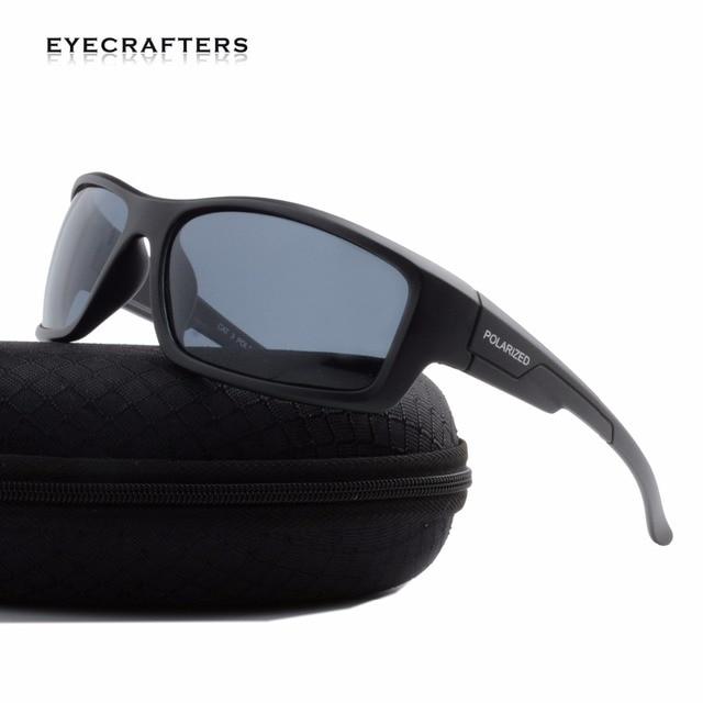 d314b0b5a49 Eyecrafters Optical Polarized Sports Sunglasses Mens Fashion Male Eyewear  Polaroid SunGlasses Travel Oculos Gafas De Sol