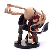 15cm NARUTO Gaara doll Anime Figure PVC Collection Model Toy Action figure for friends gift