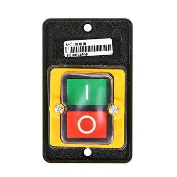 Водонепроницаемый кнопочный переключатель питания вкл/выкл режущая машина скамья сверла переключатель KAO-5/BSP210F-1B 10A 380В