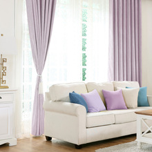 Blackout Window Curtains For Living Room Thick Purple Fabric Drapes Bedroom Romantic Thermal Blinds Embroidery Tulle