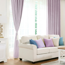Blackout Window Curtains For Living Room Thick Purple Fabric Drapes Bedroom Romantic Thermal Blinds Embroidery Tulle Curtain