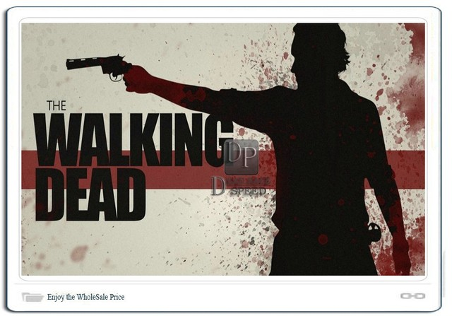 The Walking Dead Sticker For Cars & Wall