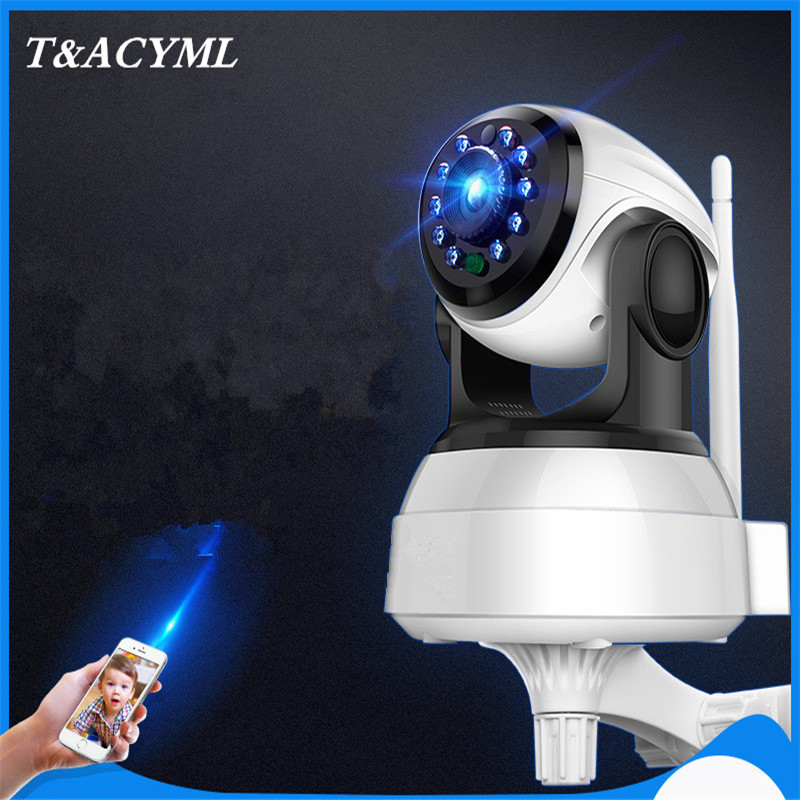 WIFI IP Security Camera 1080P HD video Home Security Surveillance 360 Night Vision Two-way Audio Motion Detection Camera Indoor