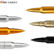 New Arrival Usb Flash Drive Metal Bullet Model Stick 2.0 32GB Pen 64GB 128GB 4GB 8GB 16GB Pendrive Free Custom Logo