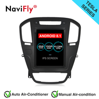 NaviFly Tesla Style Android 8.1 IPS screen Car Radio GPS Navigation for OPEL INSIGNIA 2008 2011 with Mirror Link WIFI BT Map