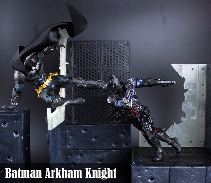 Free Shipping DC Comics Batman Arkham Knight Batman ARTFX+STATUE 1/10 Scale Boxed PVC Action Figure Collection Model Doll Toy neca dc comics batman arkham knight batarang replica action figure with light collectible model toy