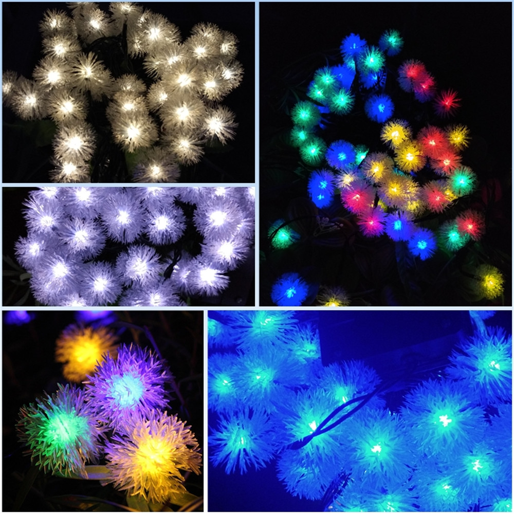 outdoor garden decoration lights solar lamps lighting Strings (29)