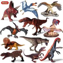 Oenux High Quality Dinosaur World Park T-Rex Pteranodon Therizinosaurus Spinosaurus Model Jurassic Dinosaurs Action Figures Toy(China)