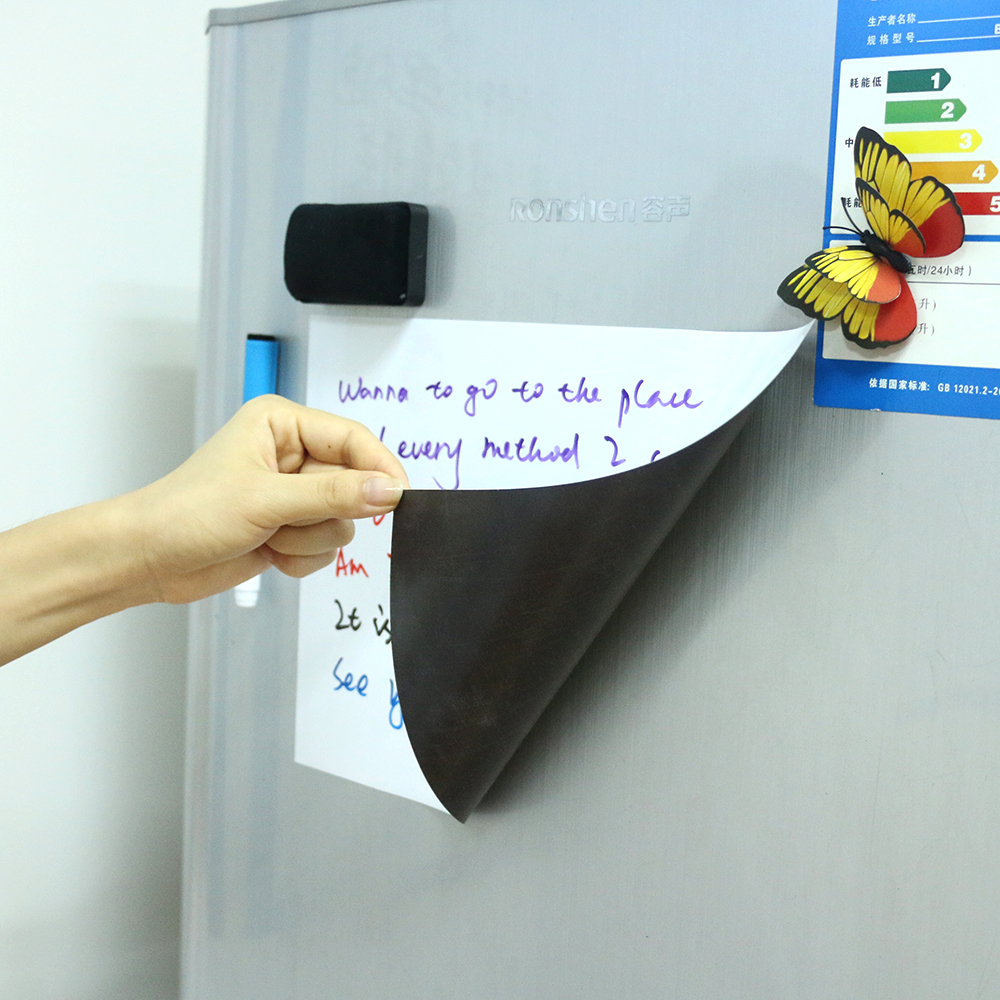 Magnetic Whiteboard For Kitchen Fridge A4 Size 0.5 Mm Thick Magnetic Board  For Refrigerator Shopping List In Whiteboard From Office U0026 School Supplies  On ...