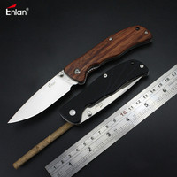 Enlan L05 Spring Assist Folding Knife 8Cr13Mov Blade Outdoor Survival Camping EDC Pocket Knife 19 6cm