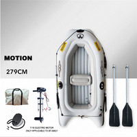 AQUA MARINA MOTION New Inflatable Boat Sports Kayak PVC Boat Paddle Rubber Inflatable Boats Double Persons Canoeing With Paddle