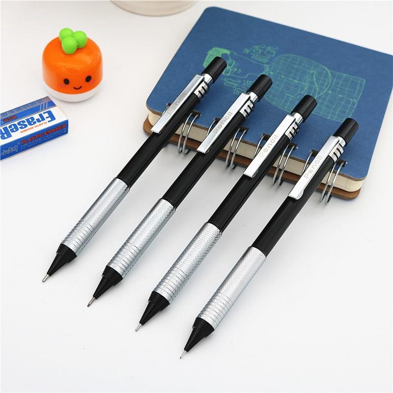Высококачественный полностью металлический карандаш ZD125 механический карандаш 0,3 0,5 0,7 мм профессиональный дизайн для рисования автоматиче...