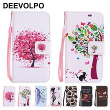 DEEVOLPO Phone Bags Leather Cases For Samsung A8 2018 A3 A5 J3 J5 2017 S4 S5 Mini S6 S7 Edge S8Plus S9Plus G360 G530 Note8 D06Z(China)