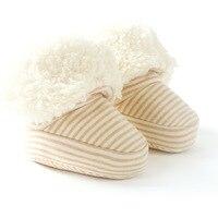 الشتاء رشاقته winterwarm طفلة الصبي الوليد طفل رضيع الأحذية حذاء طفل الفتاة القطن الوليد الجوارب الطفل YL238
