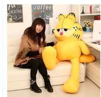Stuffed animal 130 cm Garfield cat plush toy doll high quality gift present w1265